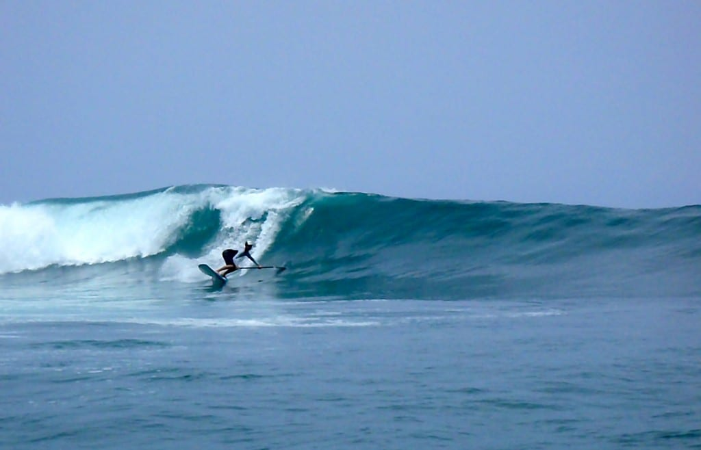 ... and Expert Wave Riding Classes for SUP in Santa Teresa, Costa Rica
